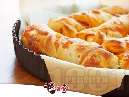 Бразилски хляб с кашкавал и яйца - снимка на рецептата